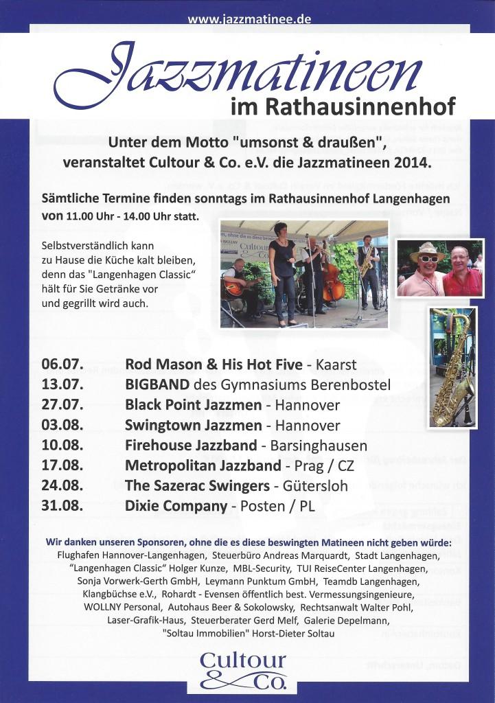 Jazzmatineen im Rathausinnenhof-flyer