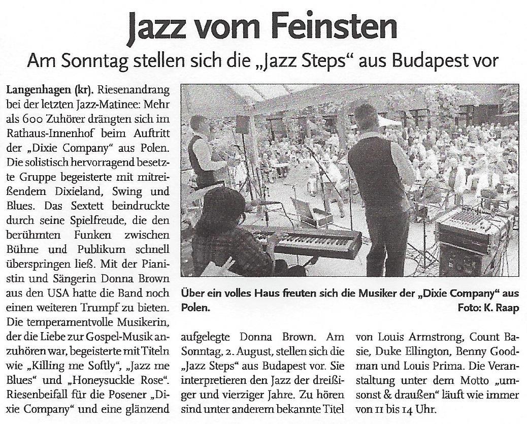 Jazz vom Feinsten-